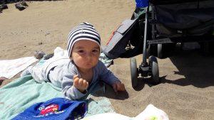 Na Lanzarote s miminkem