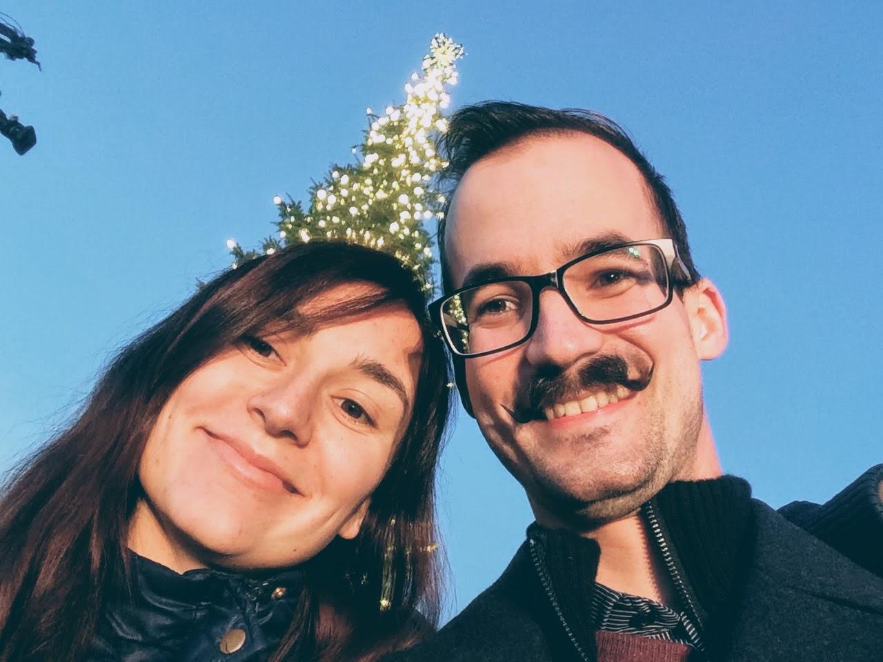 Naše Vánoce v Americe