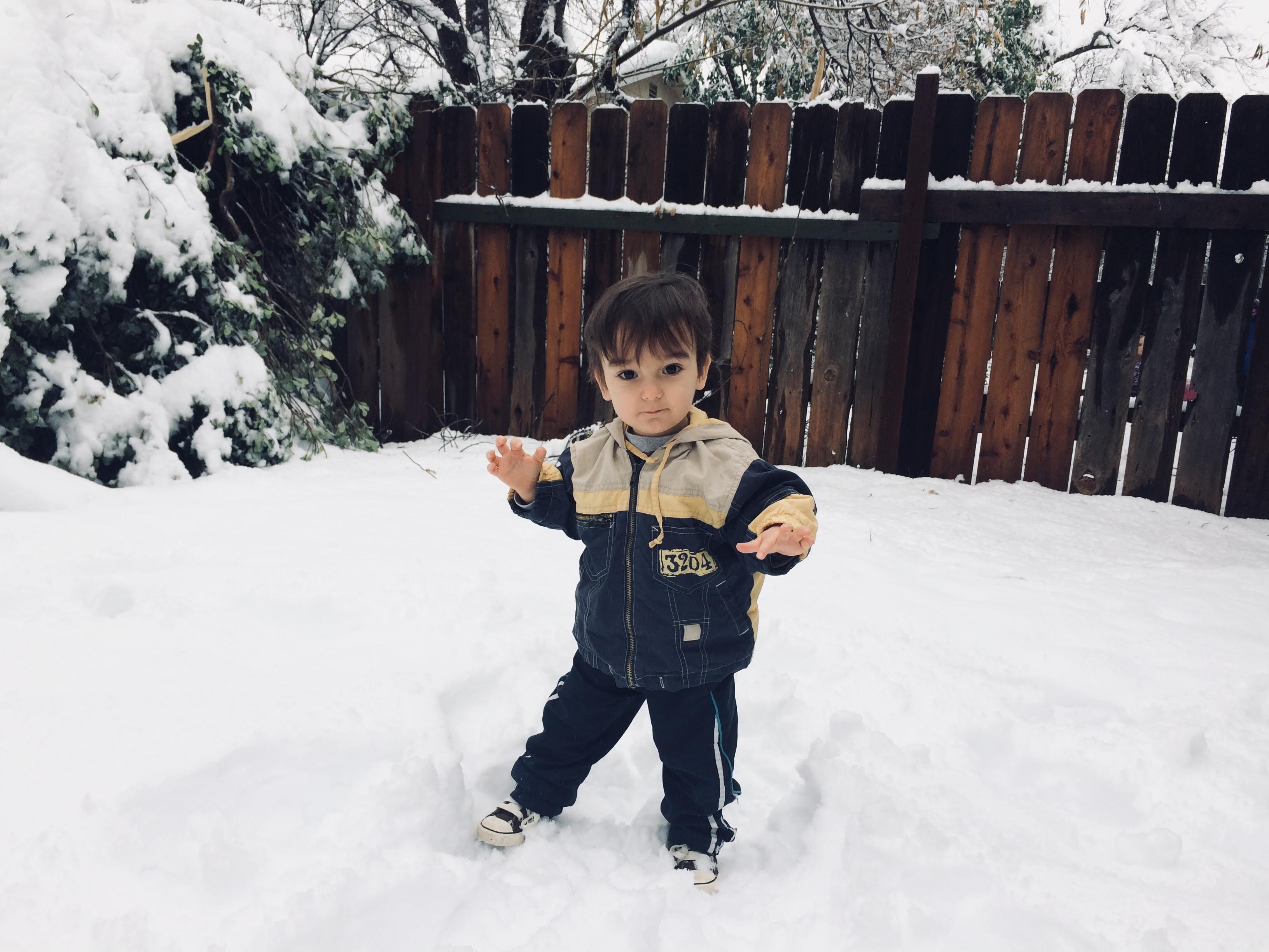 Co se stane, když v Reddingu nasněží